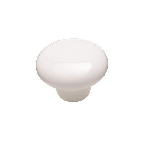 "Allison™ Value 1-1/2"" (38 mm) Diameter Ceramic Knob - 1-1/16"" Projection"