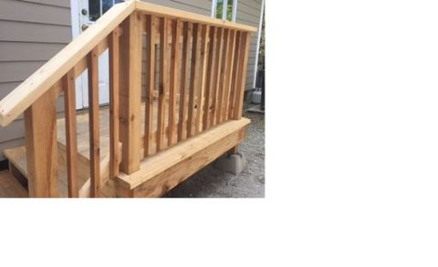 2 x 2 Cedar Select Tight Knot Beveled Balusters