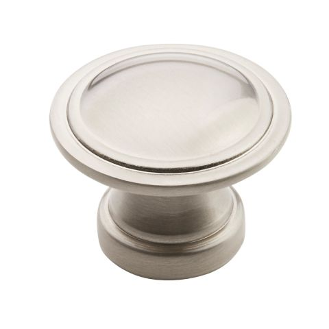 "Allison™ Value 1-3/16"" (30mm) Diameter Ringed Knob - 15/16"" Projection"