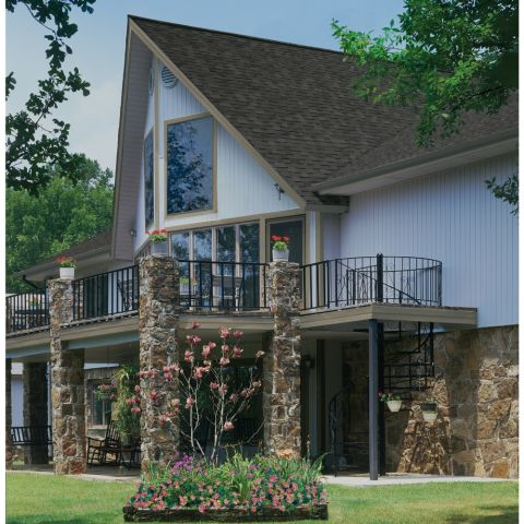 "Chamfer Board™ Double 5"" Vertical Siding & Soffit"