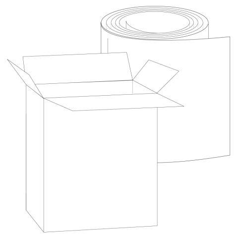 """Rollex .032 Gauge Mini Gutter Coil - 11-7/8"""""""