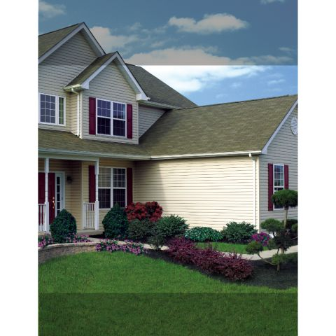 "Monogram® XL Double 4"" Clapboard Vinyl Siding - Longer Length"
