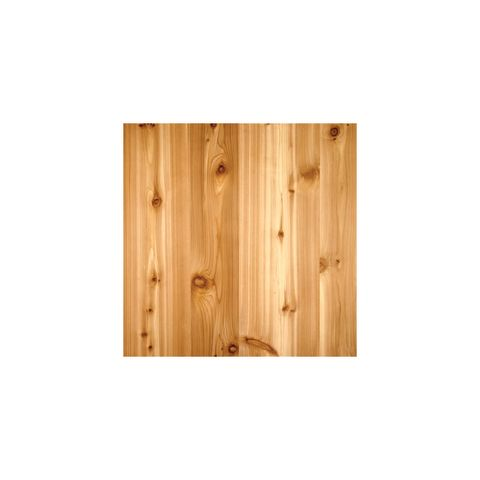 "Knotty Red Cedar A-2 NAF Veneer Core 3/4"" 48.5x96.5"
