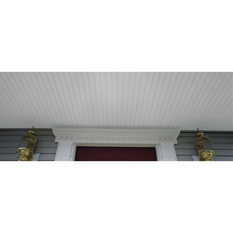 "Beaded Vented Soffit Triple 2"" Soffit & Vertical Siding"