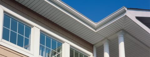 "Triple 3-1/3"" Soffit - Solid Vertical Siding and Soffit"