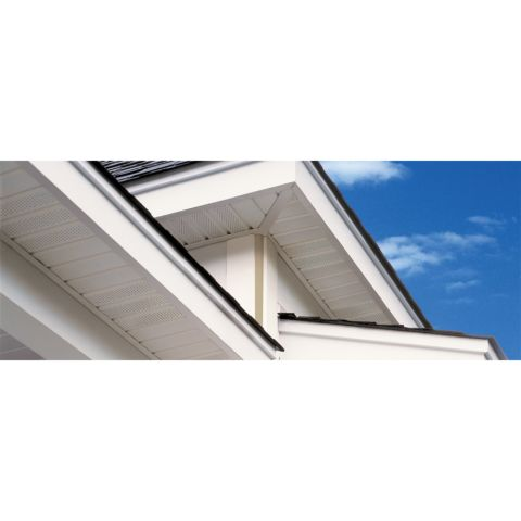 "Universal Triple 4"" Vented Soffit"