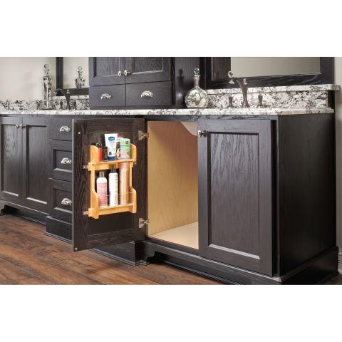 4VR Series Maple Door Mount Vanity Organizer