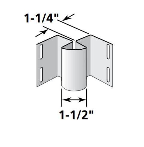 "1-1/4"" Inside Cornerpost"