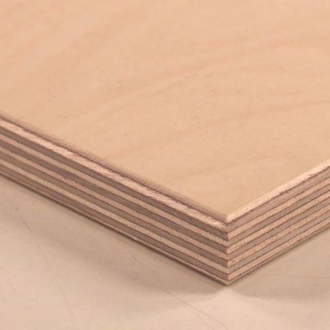 C2 White Birch Plywood Veneer Core 5 2 mm 4 x 8