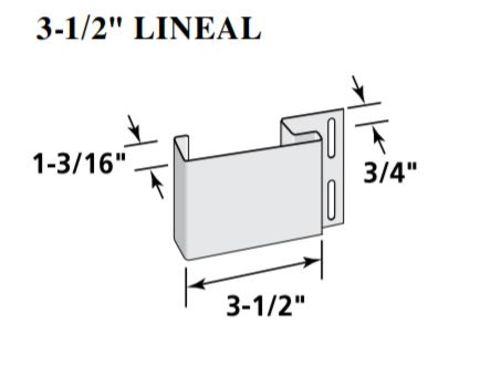 "CertainTeed Lineal - 3-1/2"""
