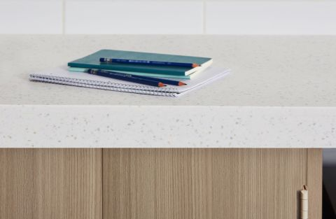 Formica Tumbled Glass 413 Everform Solid Surface