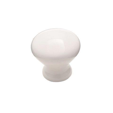 """Allison™ Value 1-5/16"""" (33mm) Diameter Ceramic Knob"""