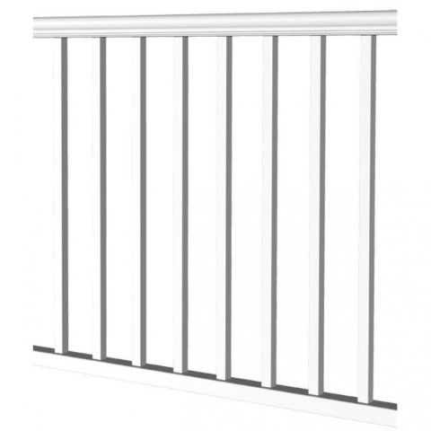 "RDI Titan Pro Level Railing Kit with 1-1/4"" Square Balusters - 36"" Rail Height"