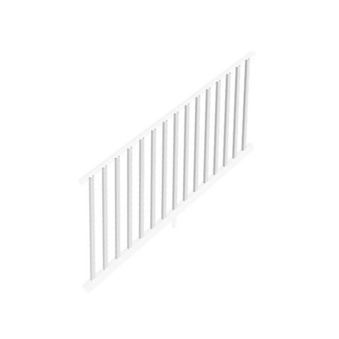 "Transform Stair Rail Kit with Square Balusters - 36"" Rail Height"