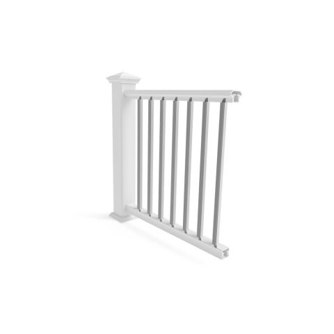 Transform Square Balusters for Level Rail - 10 Pack