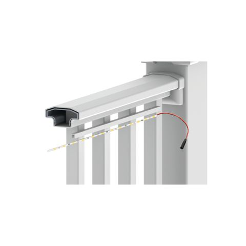 Crossover LED Light Channel