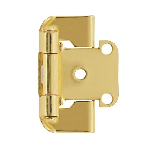 "1/2"" (13mm) Overlay Self-Closing Partial Wrap Hinge"