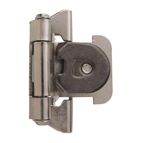 """1/4"""" (6mm) Overlay Single Demountable Hinge"""