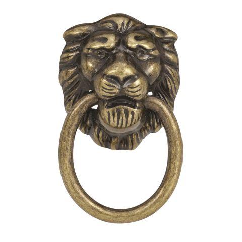 "Allison™ Value 1-1/4"" (32 mm) Diameter Knob - Lion Ring Knob"