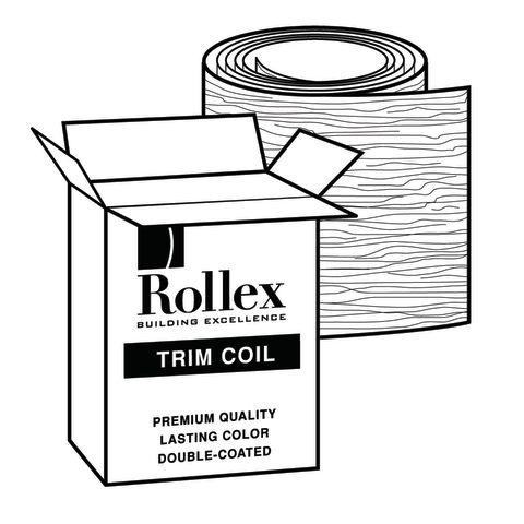 "Rollex 14"" Trim Coil - Woodgrain Finish"