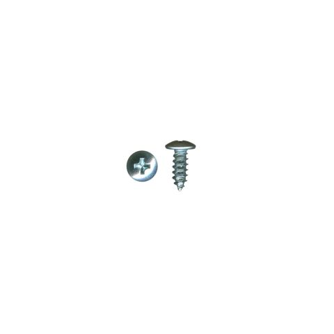 Accuride Black Pan Head Point Mounting Screw, #8 x 1/2 in, 10000/Box