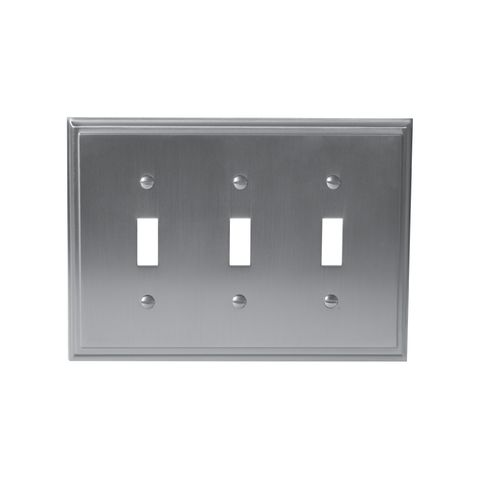 Amerock Mulholland 3 Toggle Wall Plate