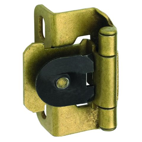 "1/2"" (13mm) Overlay Single Demountable Partial Wrap Hinge"