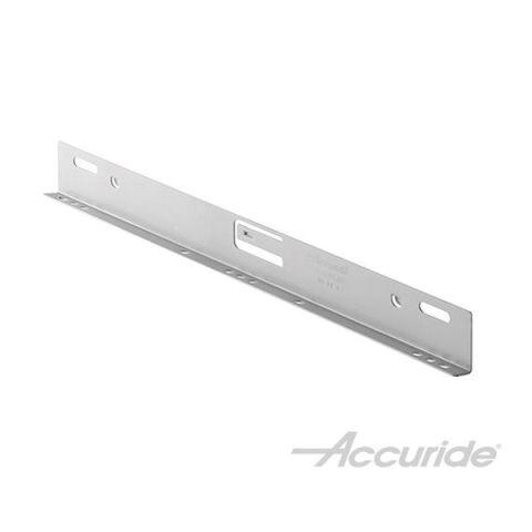 Accuride Clip-On Bracket, 14 in x 0.58 in x 1.4 in, Zinc