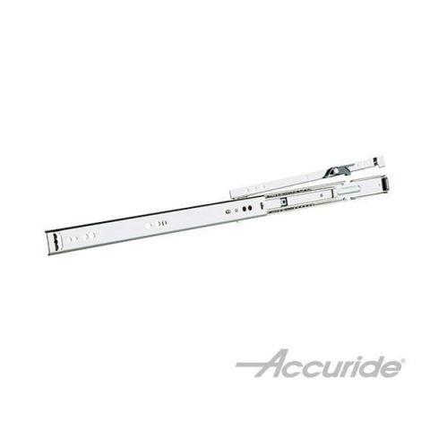 Accuride 2632 75 lb Light-Duty Low Profile Slide, Black Zinc