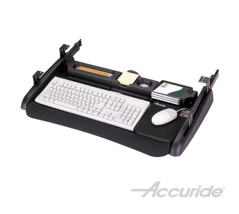 Accuride Deluxe Ergonomic Keyboard Tray, 29-19/32 in x 19-13/16 in