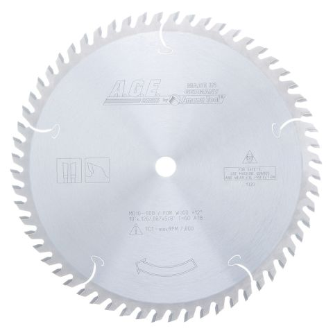 Amana Tool A.G.E. Saw Blades Cut-Off and Crosscut Circular Saw Blade, 10 in x 80T