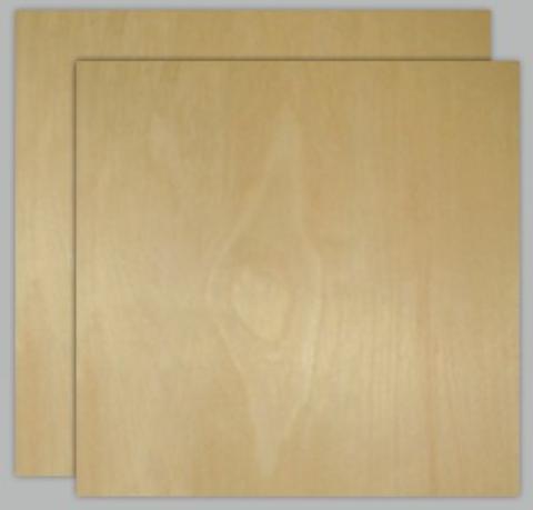 """A-3 Birch Plywood 4' X 8'  1/4"""""""