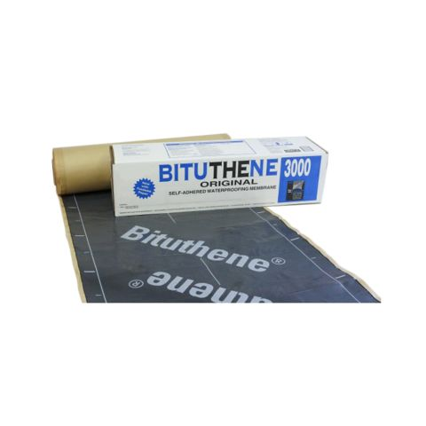 "Bituthene 3000 Flexible Waterproof Membrane - 36"" x 66.7' Roll"