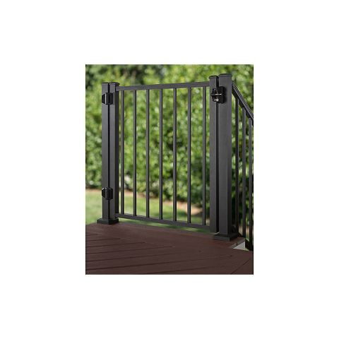 Trex Aluminum Gate with Square Balusters - 36""