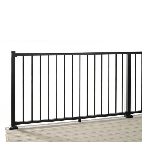 Trex Signature Aluminum Horizontal Rail Kit with Round Balusters - 36""
