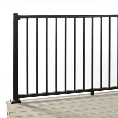 "Signature Aluminum Rail Panel with Square Balusters - 36"" Height"