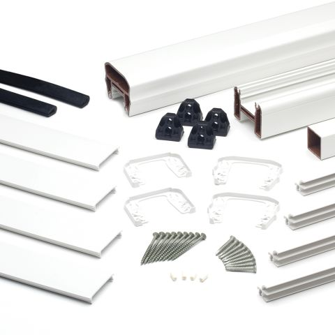 Transcend 6' Glass Panel Accessory Kit