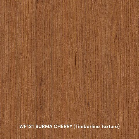 Arauco Prism WF121 Burma Cherry Thermally Fused Laminate - Particleboard Core G2S - Timberline Texture