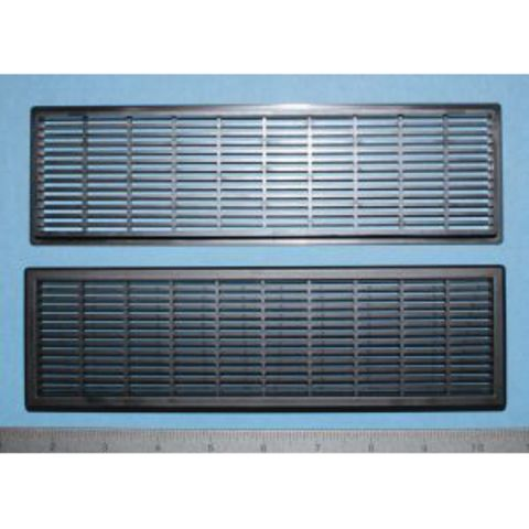 Bainbridge Manufacturing Vent Grill, 8-5/8 x 2-3/8 in