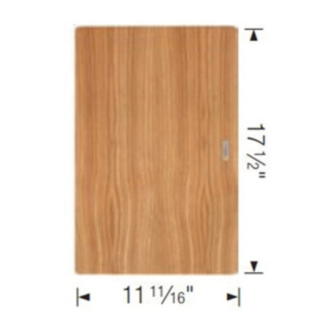 Blanco QUATRUS Cutting Board, 11-11/16 in x 17-1/2 in x 15/16 in