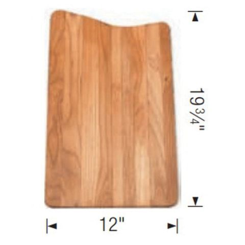 Blanco SILGRANIT DIAMOND Cutting Board, 12 in x 19-3/4 in, Red