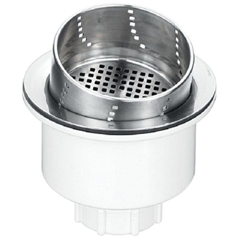 Blanco 3-in-1 Basket Strainer, Stainless Steel, 3-1/2 in