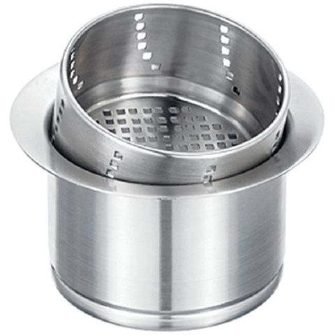 Blanco 3-in-1 Disposal Flange, Stainless Steel, 3-1/2 in