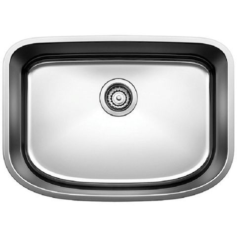 Blanco ONE Medium Single Bowl Sink, Satin Polished