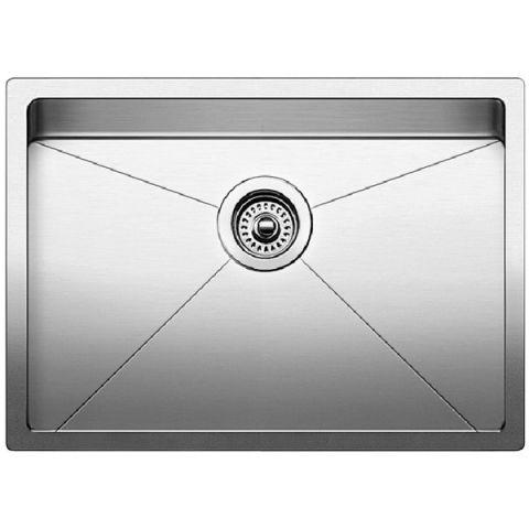 Blanco QUATRUS R15 Medium Single Bowl Sink, Satin