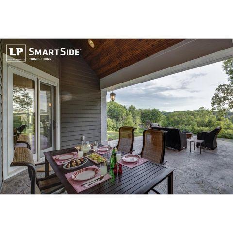 SmartSide ExpertFinish 4/4  x 4 Cedar Texture Trim
