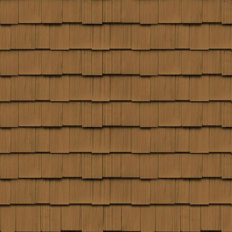 "Cedar Impressions Double 9"" Staggered Rough-Split Shakes"