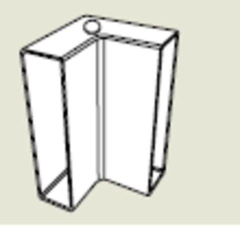 Form-A-Drain 90 deg Corner