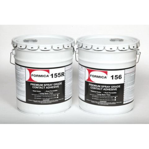 Choice Brands Formica Brand Adhesives High Performance Flammable Spray Grade Contact Adhesive, 5 gal
