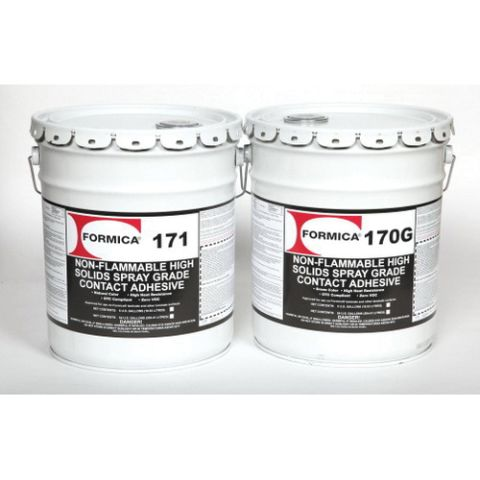 Choice Brands Formica F-170G High Solid Non-Flammable Spray Grade Contact Adhesive